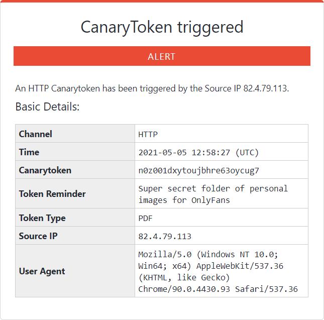 CanaryToken
